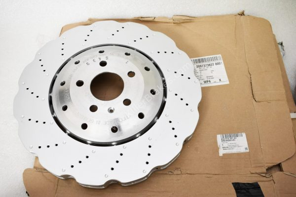 Audi RS6 RS7 390x36mm wave Front Brake Discs (Pair) 4G0615301AH 4G0615301E NEW