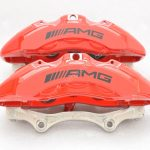 Genuine AMG 6pot Brake Calipers Set with pads for Mercedes-Benz W222 S63 S65 S class HQ SE OEM – 52