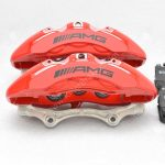 Genuine AMG 6pot Brake Calipers Set with pads for Mercedes-Benz W222 S63 S65 S class HQ SE OEM – 54
