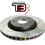 Ford Focus Mk3 RS 2.3 Turbo Rear Brake Discs DBA 42969S 302x11mm 4000 series T3 Slotted