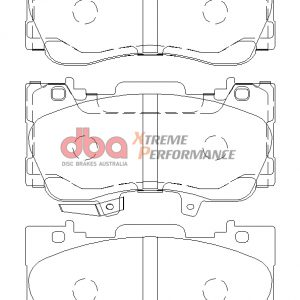 Ford Mustang 2.3 Turbo Front Xtreme Performance Brake Pads DB9011XP