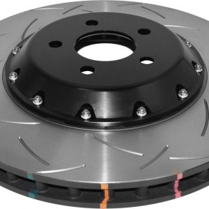 Ford Mustang GT 5.0 Front Brake Discs DBA 52166BLKS 380x34mm 5000 series Fully Assembled 2-Piece Black Hat - T3 Slot