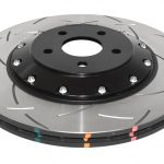 Ford Focus Mk3 RS 2.3 Turbo Front Brake Discs DBA 42968S 350x25mm 5000 series Fully Assembled 2-Piece Black Hat T3 Slot