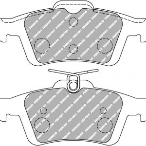 Ford Focus Rs Mk3 Rear Ferodo Racing Brake Pads FCP1931H DS2500 New