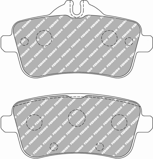 Mercedes A45 AMG Rear Ferodo Racing Brake Pads FCP4587H DS2500 New