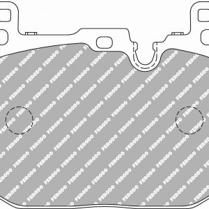 BMW Front Ferodo Racing Brake Pads FCP4611H DS2500 4pot Brembo Calipers New