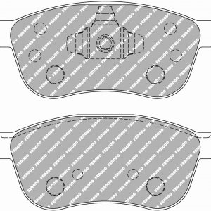 Ford Fiesta St mk7 Front Ferodo Racing Brake Pads FCP4816H DS2500 New