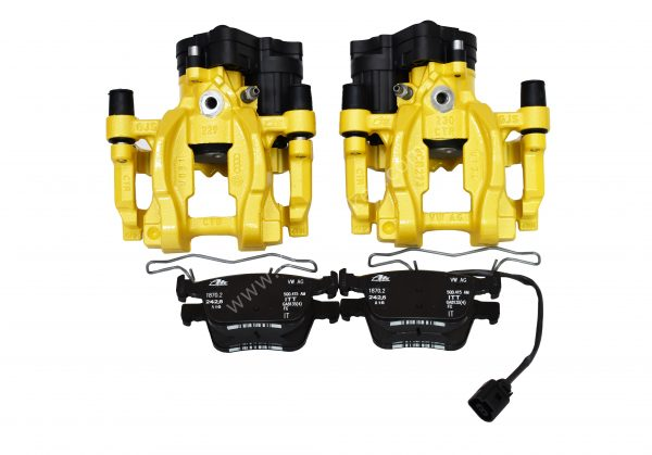 Volkswagen Golf Mk7 R Audi S3 8v Rear Calipers Yellow upgrade for Gti A3 NEW