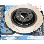Front DBA 2808S Brake Discs 345x30mm T2 Slotted New