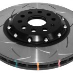 Front DBA 52830BLKS Brake Discs 340x30mm 2-piece 5000 series Slotted New